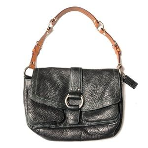 Coach Leather Chelsea Shoulder Bag